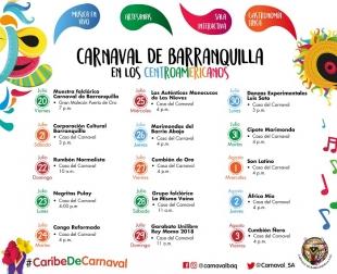 Carnaval de Barranquilla presenta agenda festiva para los Juegos Centroamericanos y del Caribe