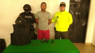 Capturan a el 'Guasón',uno de los más buscados en Barranquilla