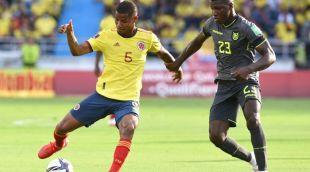 Colombia empató frente a Ecuador en Barranquilla