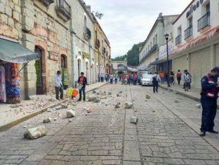 Alerta de tsunami en Centroamérica tras sismo de magnitud 7.5 en México