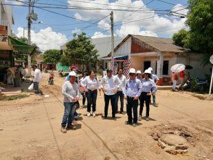 Directora de Prosperidad Social, Susana Correa, visitó avance de obras en el departamento del Atlántico