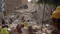 México: Van 225 muertos tras terremoto de magnitud 7.1