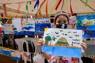 Los Niños Pintan Su Mar: La iniciativa que transforma los corazones de los niños y niñas del Distrito de Santa Marta