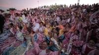 Las reinas populares se lucieron en Cumbia al Río
