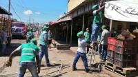 Distrito realizó operativos de recuperación de espacio público en Barranquillita