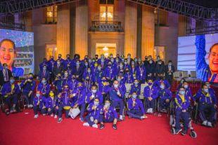El Gobierno del Deporte entregó incentivos a los medallistas paralímpicos de Tokio 2020