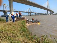 C.R.A acompañó proceso para retirar material oleoso del río Magdalena