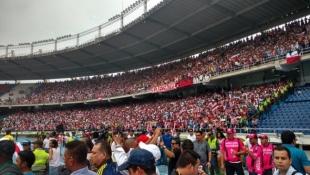 Distrito define medidas de control para partido Junior- Huila en el Romelio Martínez