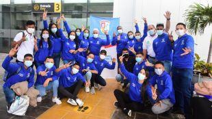 23 representantes del Atlántico viajan a Bogotá al III Intercambio de Experiencias Juveniles