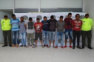 Policía desarticuló banda 'Los Malamberos'