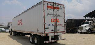 OPL Carga SAS se mantiene en las carreteras del país transportando bienes de primera necesidad por la pandemia del Covid-19