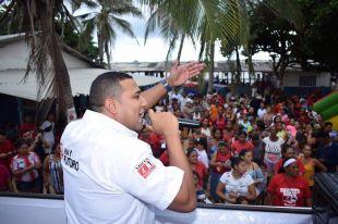 Multitudinaria caravana de Óscar David Galán se tomó las calles de Barranquilla