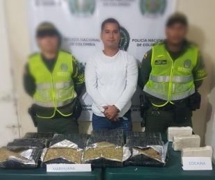 Capturado hombre que transportaba más de 25.000 dosis de alucinógenos