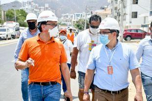 """""""Ampliación de carrera 4 de El Rodadero le faltó planificación y está desfinanciada"""": Gobernador Caicedo"""